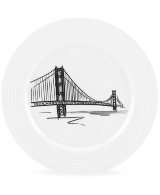 Lenox Dinnerware, Tin Can Alley San Francisco Accent Plate