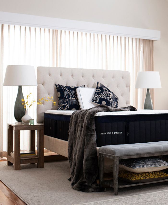 """Stearns & Foster - Hybrid Pollock 14.5"""" Luxury Plush Mattress - Full"""