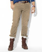 Polo Ralph Lauren Pants, Straight-Fit Five-Pocket Corduroy Pants