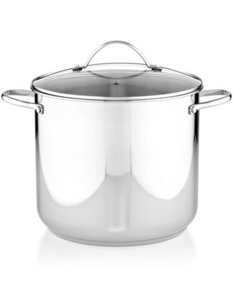 Tools of the Trade Stainless Steel Covered Stockpot, 16 Qt.
