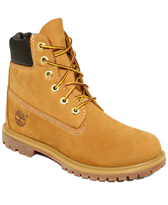 timberland s 6 quot premium booties boots shoes macy s