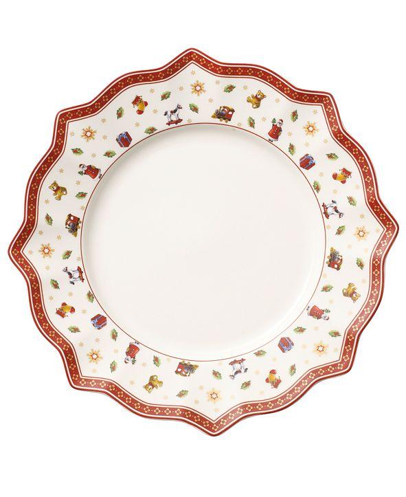 Villeroy & Boch Toy's Delight White Dinner Plate
