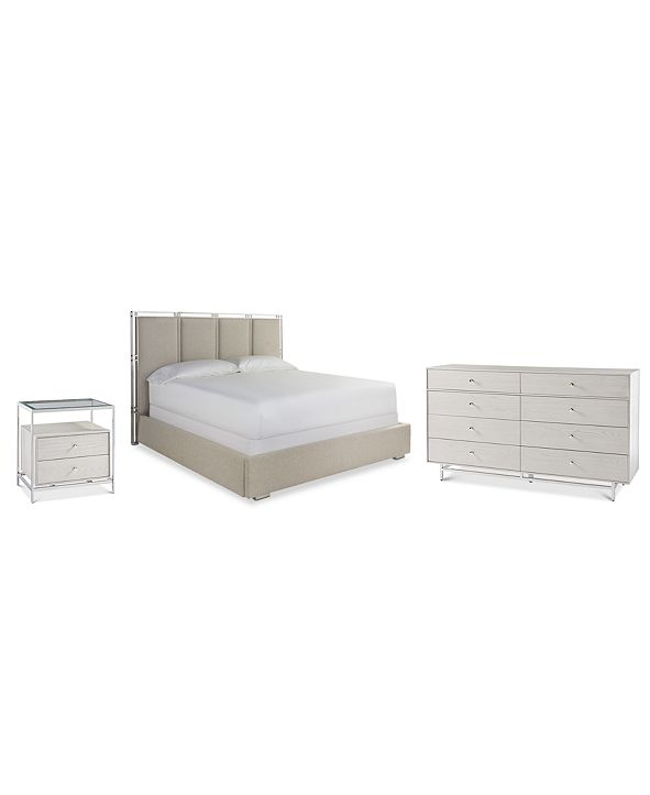 Furniture Paradox Bedroom Furniture 3-Pc. Set (King Bed, Nightstand & Dresser)