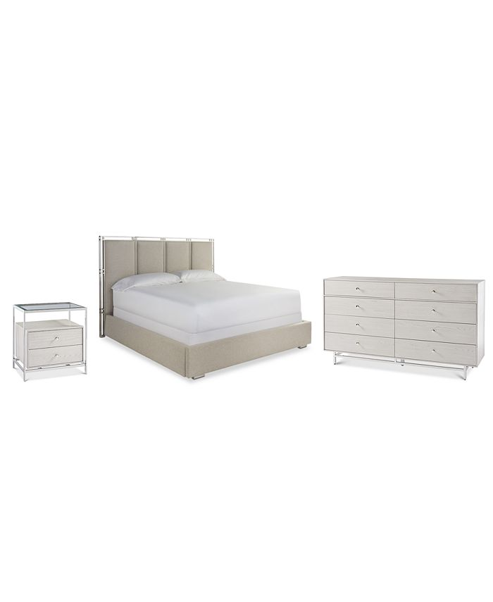 Furniture - Paradox Bedroom  3-Pc. Set (King Bed, Nightstand & Dresser)