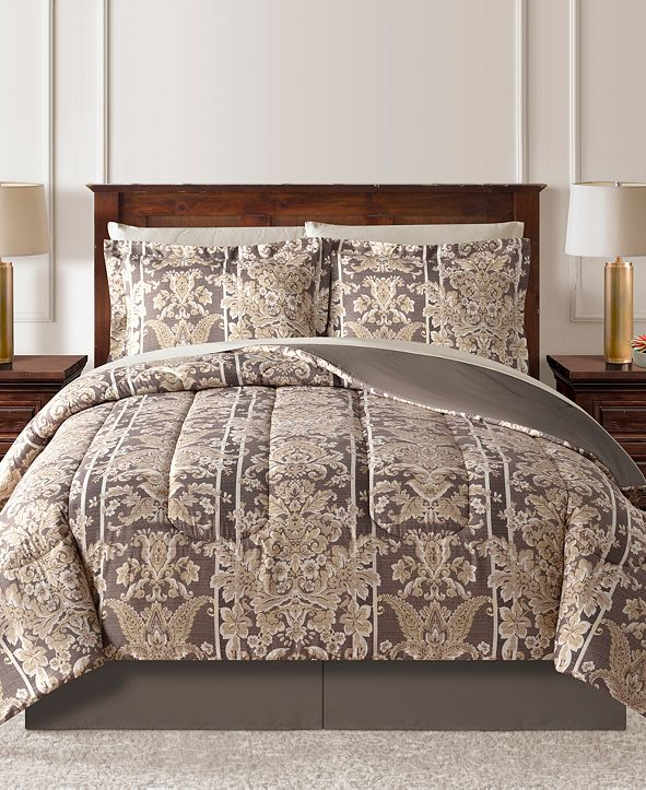 Fairfield Square Collection CLOSEOUT! Morris Reversible 8-Pc. Comforter Sets