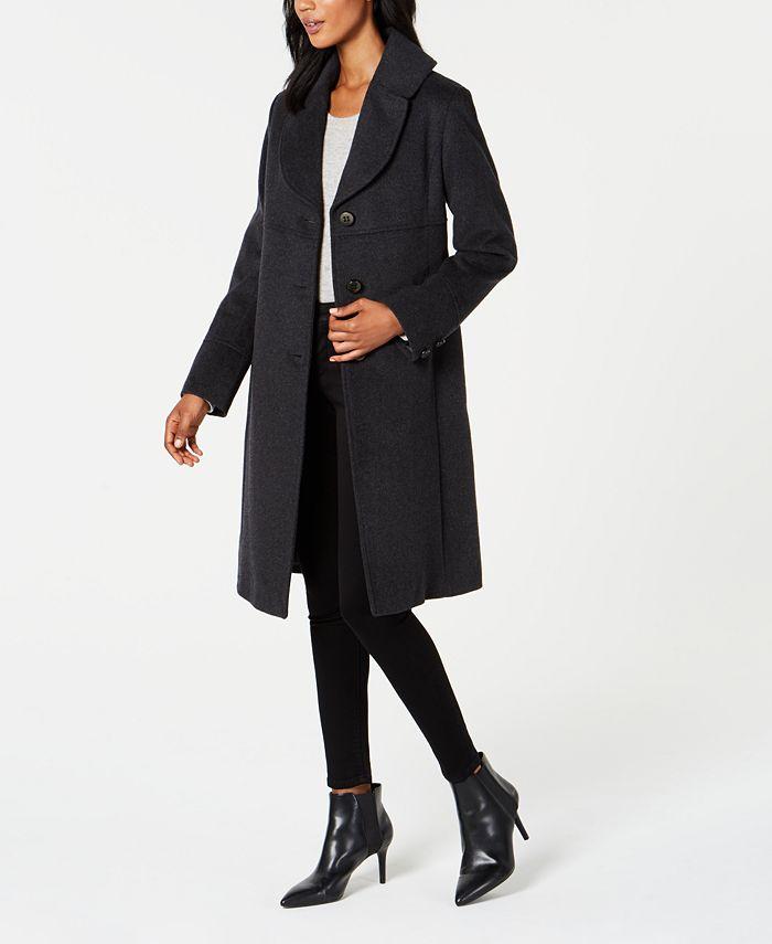 Jones New York - Notch-Collar Walker Coat