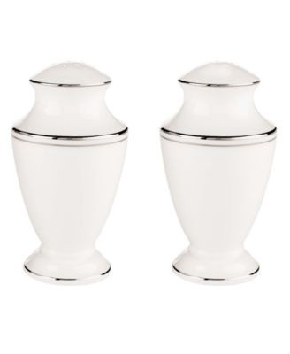 Lenox Dinnerware, Federal Platinum Salt and Pepper Shaker Set