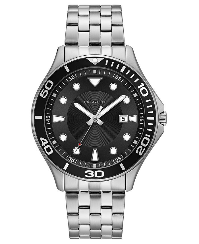 Caravelle - Men's Sport Stainless Steel Bracelet Watch 42mm