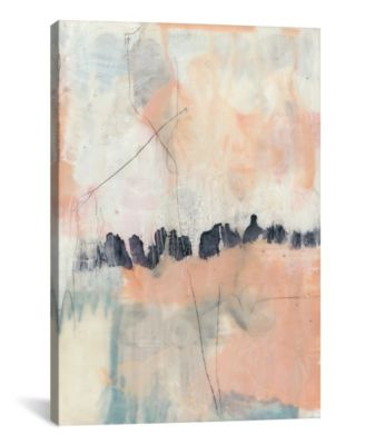 Blush and Navy Ii by Jennifer Goldberger Gallery-Wrapped Canvas Print - 40