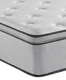 """Beautyrest BR800 13.5"""" Plush Pillow Top Mattress- Queen"""