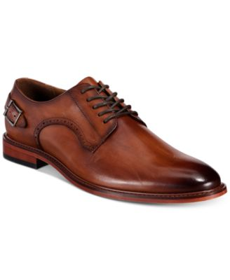 Bar III Sean Leather Lace-Up Oxfords