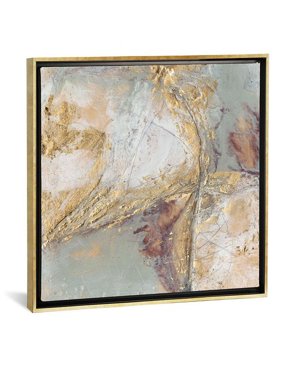 """iCanvas """"Gilded Circuit I"""" by Jennifer Goldberger Gallery-Wrapped Canvas Print"""