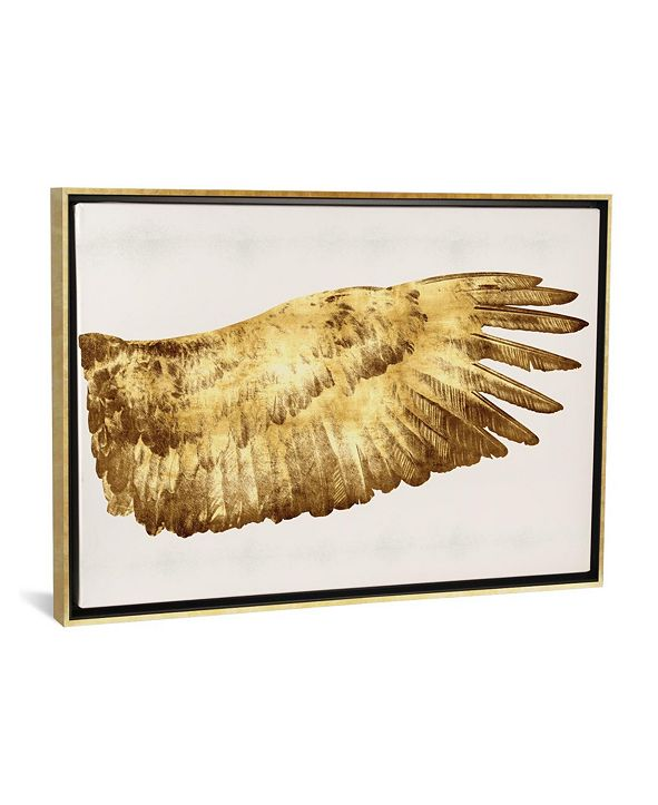 """iCanvas """"Golden Wing Ii"""" by Kate Bennett Gallery-Wrapped Canvas Print"""