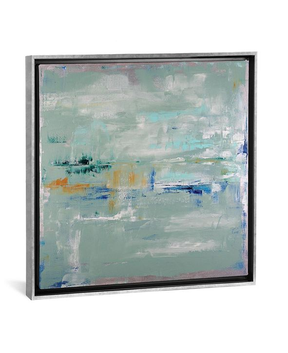 """iCanvas Daydream in Silver by Shalimar Legaspi Gallery-Wrapped Canvas Print - 26"""" x 26"""" x 0.75"""""""