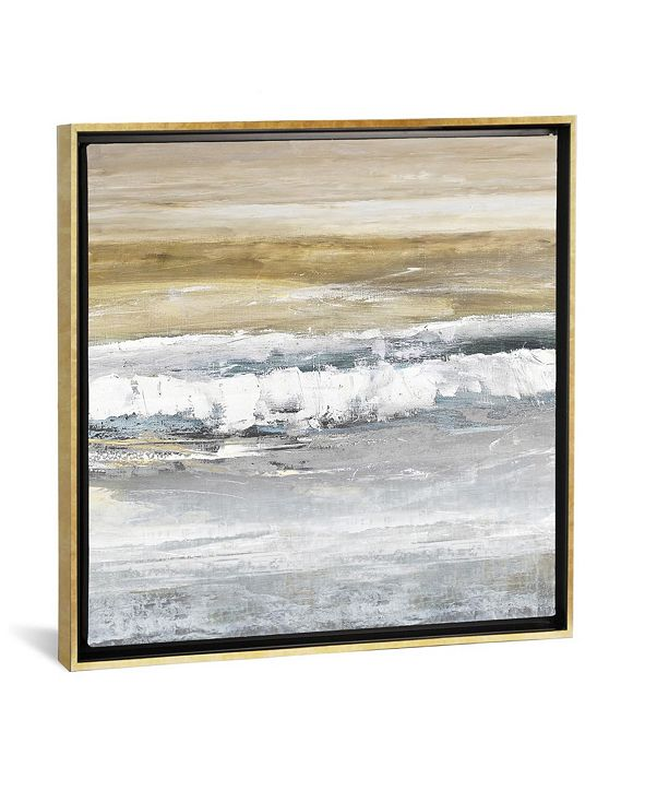 """iCanvas Tides Ii by Rachel Springer Gallery-Wrapped Canvas Print - 18"""" x 18"""" x 0.75"""""""