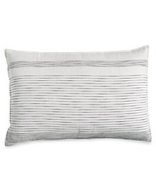 CLOSEOUT! DKNY Pure Woven Stripe Standard/Queen Sham