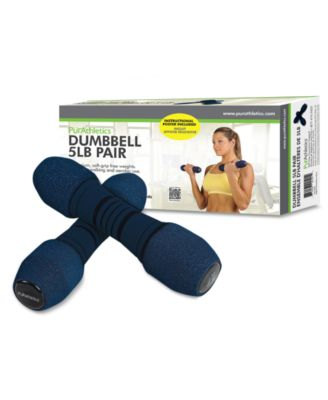 PurAthletics Dumbbells, 2.5 Lbs. Set of 2