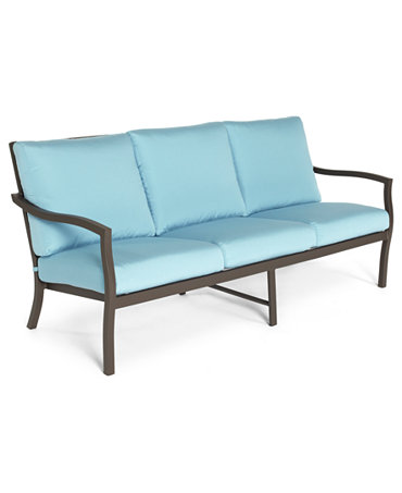 Commacys Outdoor Furniture : Holden Aluminum Patio Furniture, Outdoor Sofa - Furniture - Macys