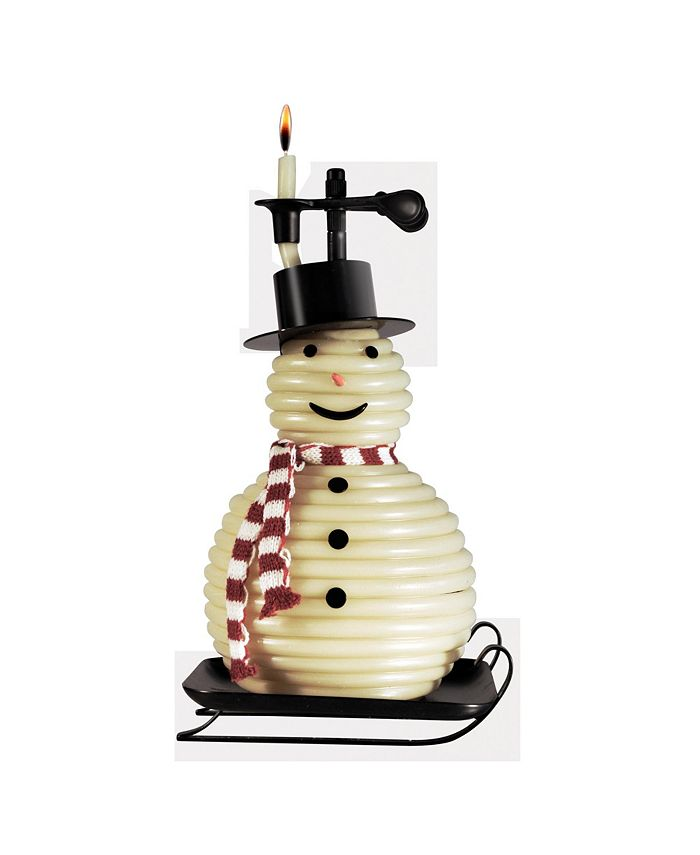 Candle by the Hour - 100 Hour Snowman