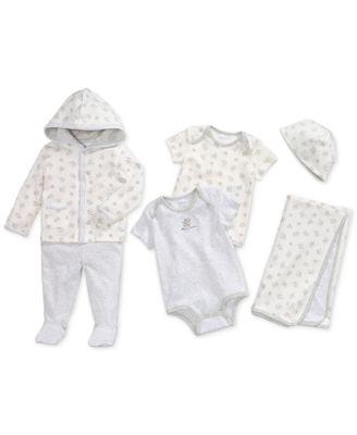 Ralph Lauren Cotton Hoodie & Pants Set, Baby Boys & Girls