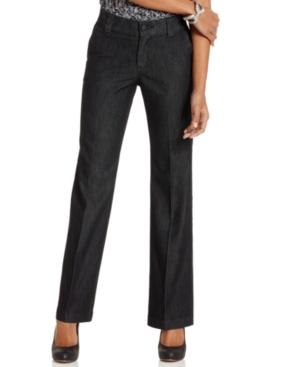 Lee Platinum Monaco Trouser Straight-Leg Jeans, Rinse Wash
