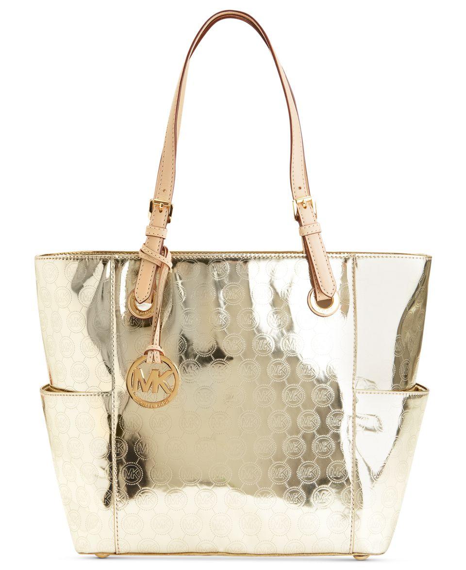 cb49d3c622a4ea MICHAEL Michael Kors Signature Patent East West Tote Handbags & Accessories