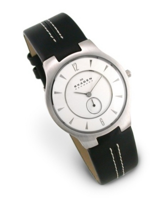 Leather Band Quartz Watch - Skagen
