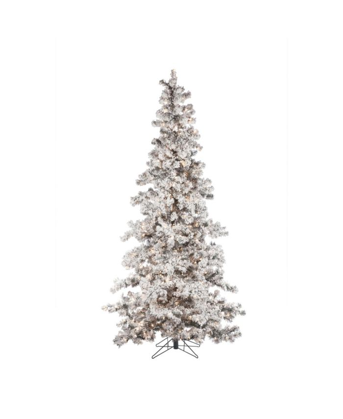 Sterling 7.5Ft. Heavily Flocked Layered Spruce with 550 clear lights & Reviews - Holiday Shop - Home - Macy's
