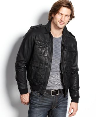 Leather Bomber Jacket Leather Jackets For Men For Women For Girls For