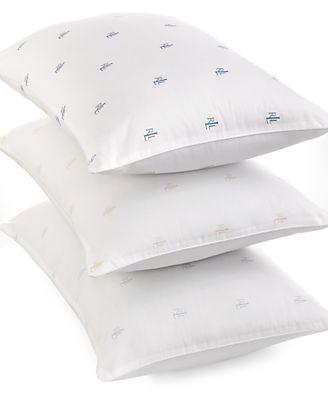 macys deals on Lauren Ralph Lauren Bedding Logo Pillows