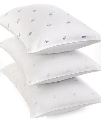 Lauren Ralph Lauren Logo Extra Firm Pillow