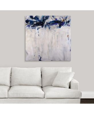 'Beethoven in Blue' Framed Canvas Wall Art, 24