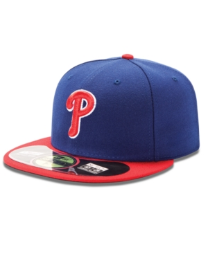 New Era MLB Hat Philadelphia Phillies OnField 59FIFTY Fitted Baseball Cap