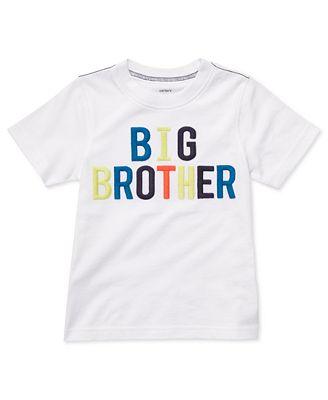 carter 39 s kids shirt little boys big brother tee kids