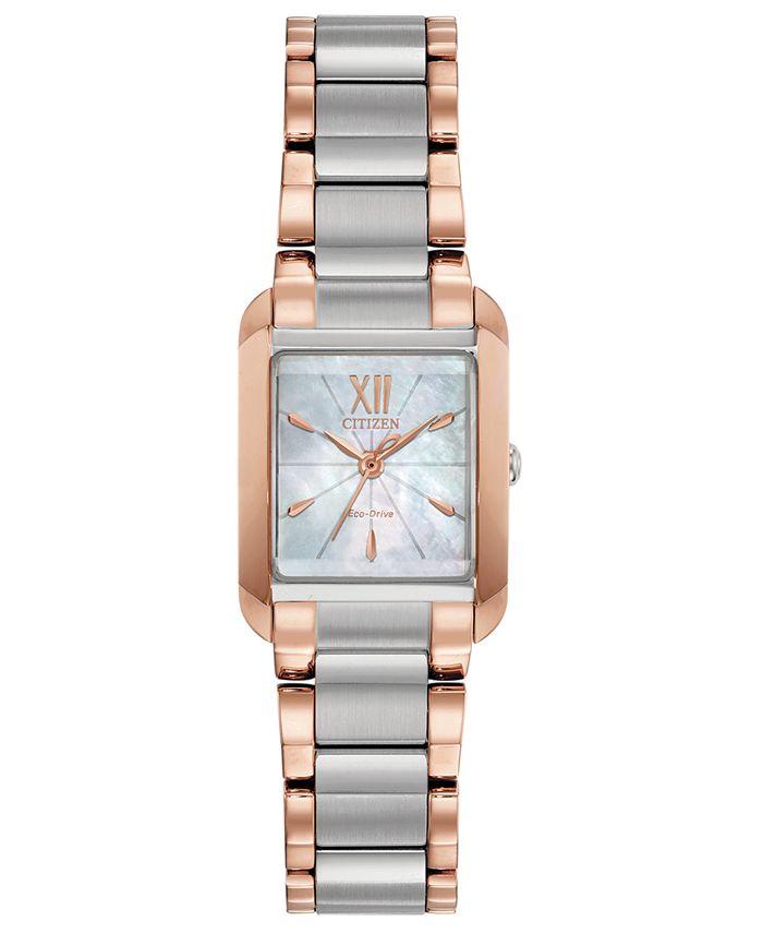 Citizen - Women's Bianca Two-Tone Stainless Steel Bracelet Watch 22mm