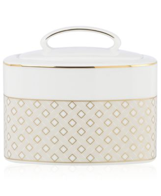 kate spade new york Waverly Pond Sugar Bowl with Lid