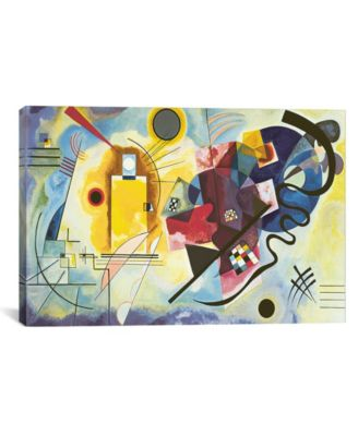 Gelb - Rot - Blau Yellow-Red-Blue, 1925 by Wassily Kandinsky Wrapped Canvas Print - 18
