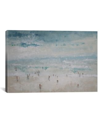 The Beach by Claudio Missagia Wrapped Canvas Print - 18