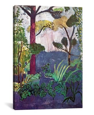 Moroccan Landscape 1913 by Henri Matisse Wrapped Canvas Print - 26