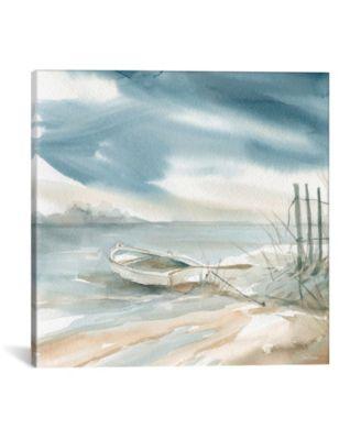 """Subtle Mist Ii by Carol Robinson Wrapped Canvas Print - 18"""" x 18"""""""