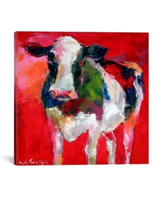 Cow by Richard Wallich Wrapped Canvas Print - 26