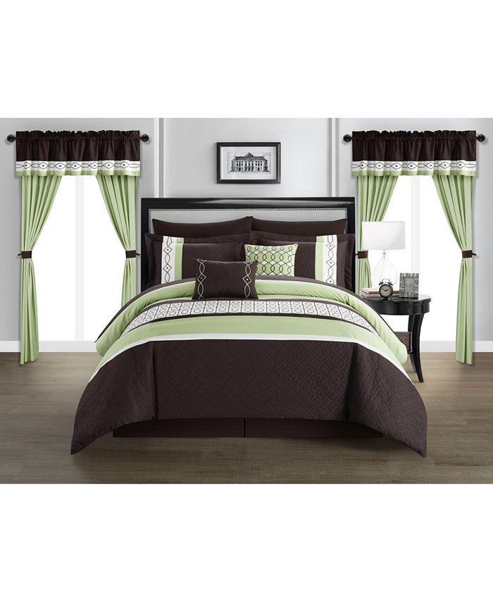 Chic Home - Katrin 20 Piece Queen Comforter Set