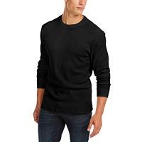 Deals on Club Room Men's Thermal Crewneck Shirt