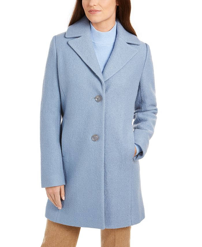 Tahari - Two-Button Reefer Coat
