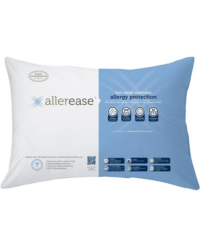 AllerEase - Hot Water Wash Firm Density Standard Pillow