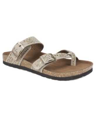White Mountain Graham Footbed Sandals