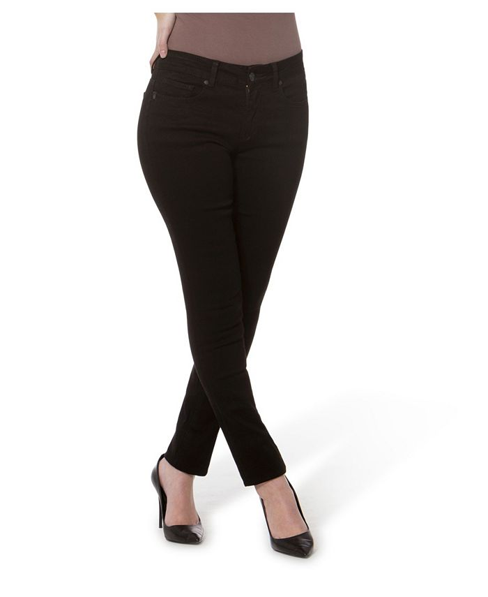 Lola Jeans - Mid Rise Straight Jeans