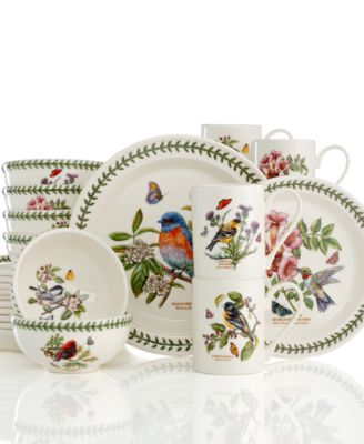 Closeout Portmeirion Dinnerware Botanic Hummingbird