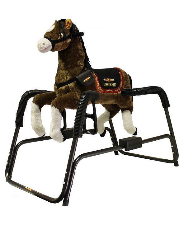 Rockin' Rider Legend Animated Spring Horse