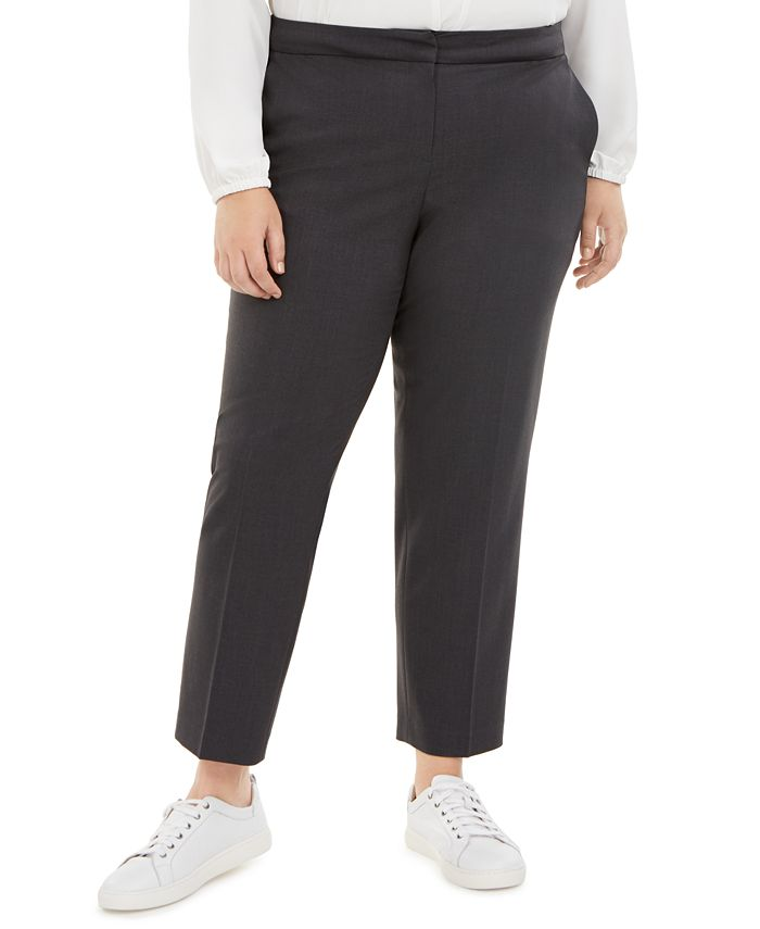 Bar III - Plus Size Ankle Pants